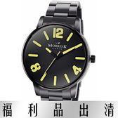 【台南 時代鐘錶 】MORRIS K 擁你入懷 玩色個性潮流男錶 MK11045-MB21