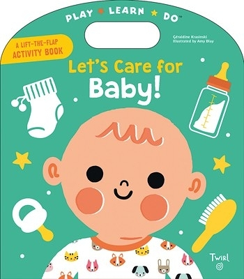 A Lift-The-Flap Activity Book:Let's Care for Baby! 照顧小寶寶 手提操作書