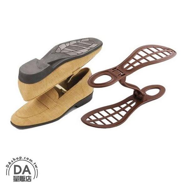 【DA量販店】可調式 鞋架 簡易鞋子收納架 鞋架 三段調整 適用22-28cm鞋子 立體 鞋盒 鞋櫃(79-5105)