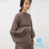 ❖ Winter ❖ 船型領落肩針織上衣 - earth music&ecology