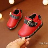女寶寶短靴子冬季0-1-2歲嬰兒學步鞋軟底小童公主棉靴女童棉鞋子【交換禮物聖誕節】
