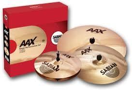 凱傑樂器  SABIAN AAX STAGE 套鈸 加贈 18吋 CRASH 銅鈸