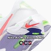 Nike 休閒鞋 Air Max Excee AMD GS 白 藍 橘紅 綠 女鞋 大童【ACS】 DD4353-100