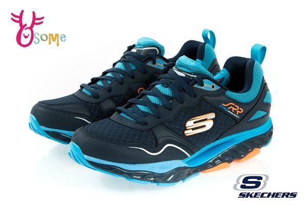 Skechers SRR PRO RESISTANCE 成人男款 台灣獨賣 回彈力慢跑鞋 運動鞋 R8220#藍色◆OSOME奧森鞋業