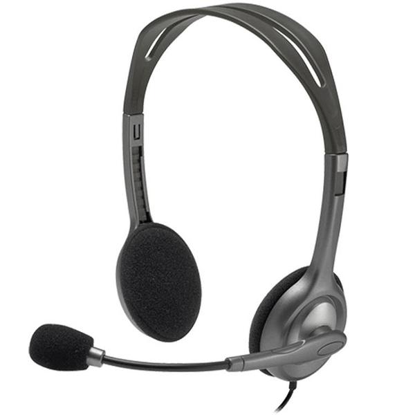 耳麥H111頭戴式耳機電腦手機通用語音辦公耳麥單孔網課【寶貝 新品】 618購物