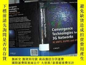 二手書博民逛書店Convergence罕見Technologies for 3G