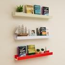 兒童壁掛墻上隔板書架置物架圖書繪本架客廳廚房裝飾相框防滑擱板  ATF  聖誕免運