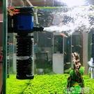 森森魚缸過濾器三合一烏龜缸過濾水族箱內置過濾水泵靜音增氧循環 1995生活雜貨