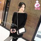【愛天使孕婦裝】韓版(83469)厚棉 顯瘦流蘇領哺乳衣洋裝 孕婦裝