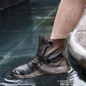 雨鞋套 下雨天軟膠雨鞋套防水防滑加厚耐磨底雨靴成人男女兒童防雨水鞋套 1995生活雜貨