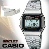 CASIO手錶專賣店 卡西歐 A159W-N1DF 男錶 數字型 壓克力玻璃鏡面 生活防水 三折式不銹鋼錶帶 A159W
