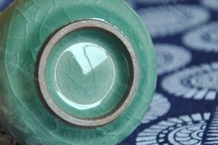 專用璃釉鼓形杯