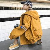 2018新款女裝春裝外套女連帽寬鬆季棒球服