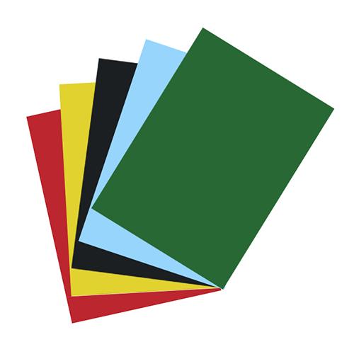 8K單色雙面西卡紙 200磅 約39x26.5cm X 5張入