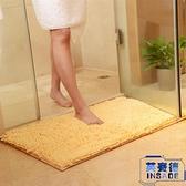 2條裝門墊吸水腳墊衛生間進門地墊家用浴室防滑墊【英賽德3C數碼館】