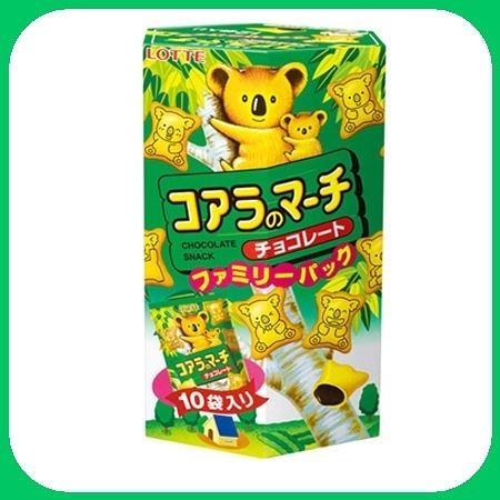 樂天小熊餅-巧克力家庭號195g【合迷雅好物超級商城】