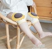 護膝嬰兒夏季薄款透氣寶寶爬行膝蓋護墊兒童學步防滑防摔神器護具 3C優購
