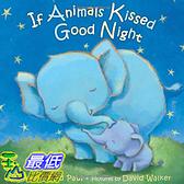 [ 美國直購 2016 暢銷書] If Animals Kissed Good Night Board book