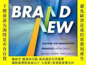 二手書博民逛書店Brand罕見New: Solving the Innovation Paradox -- How Great B