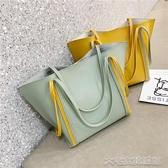 高級感大包包女新款韓版洋氣百搭大容量托特包簡單側背手提包聖誕交換禮物  大宅女韓國館