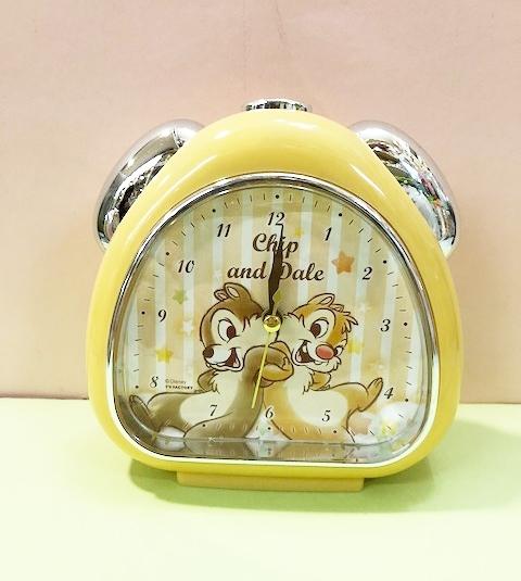 【震撼精品百貨】Chip N Dale_奇奇蒂蒂松鼠~迪士尼鬧鐘-松鼠黃#06705