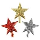 聖誕 裝飾 佈置 5.5吋樹頂星星1入-混色隨機出貨