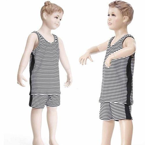 【南紡購物中心】【Bich Loan】兒童泳裝附泳帽13002001