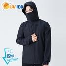 UV100 防曬 抗UV-涼感輕薄口罩連...