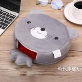 (交換禮物)usb暖手加熱滑鼠墊卡通保暖加熱護腕可拆洗加厚