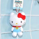 Hello Kitty Doraemon 小偶 吊飾 日本限定正版品 哆啦A夢