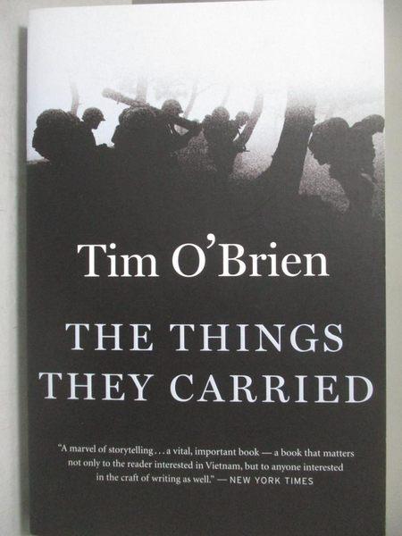 【書寶二手書T5/原文小說_ONJ】The Things They Carried_Tim O Brien