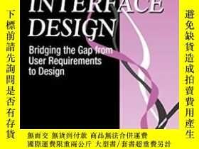 二手書博民逛書店User罕見Interface Design-用戶界面設計Y436638 Larry E. Wood Crc