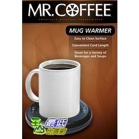 [美國直購 2/18後] Mr. Coffee MWBLK Mug Warmer 保溫杯墊 馬克杯飲品保溫器(_CB1)