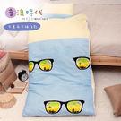 【R.Q.POLO】音浪時代  胖卡系列兒童冬夏兩用鋪棉書包睡袋(4.5X5尺)