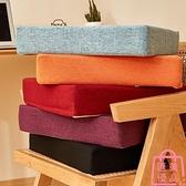 沙發坐墊透氣加厚座餐椅墊子飄窗墊椅子墊夏天【匯美優品】