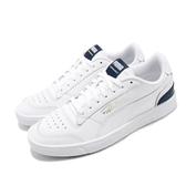 Puma 休閒鞋 Ralph Sampson 白 藍 深藍 男鞋 運動鞋 皮革【PUMP306】 37084602
