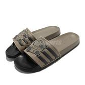adidas 拖鞋 Adilette Star Wars 綠 黑 星際大戰 男女鞋 愛迪達 【ACS】 GZ0070