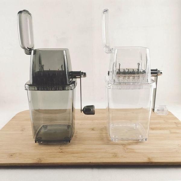 手動碎冰機 手動碎冰機手搖刨冰機小型手動磨沙冰機迷你削冰器