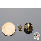 六字真言{水晶}三通頭 12mm【 十方佛教文物】