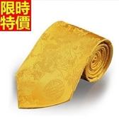 桑蠶絲領帶 男配件-精緻真絲綢商務手打領帶15色66ae3【巴黎精品】