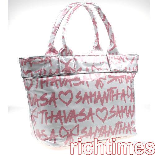 Samantha Thavasa粉字水餃包SS0A0101