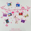 壁貼『Loxin愛心繩照片牆可愛壁貼 』diy相框 相片框