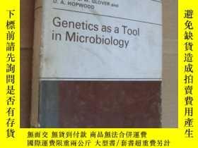 二手書博民逛書店Genetics罕見as a tool in Microbiol