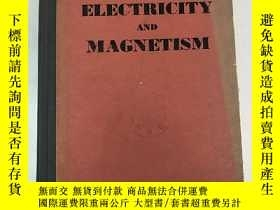 二手書博民逛書店electricity罕見and magnetism volum
