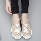 平底鞋女 百搭淑女 韓版 春季休閒鞋老北京布鞋女漁夫鞋 歌莉婭