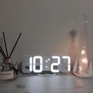 3D立體數字時鐘 立體電子時鐘 LED時...