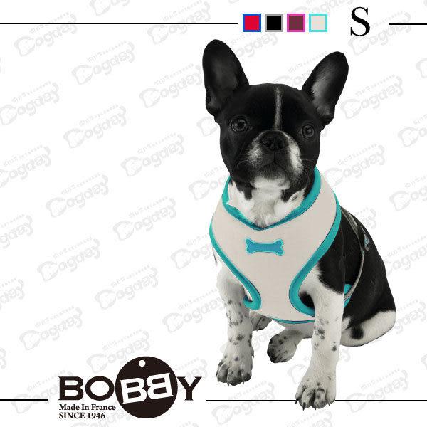 法國《BOBBY》運動彩條 背心胸背 S號 項圈 胸背