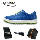 高爾夫球鞋 女款運動休閒鞋 無釘鞋 透氣防水 GSH033BLU