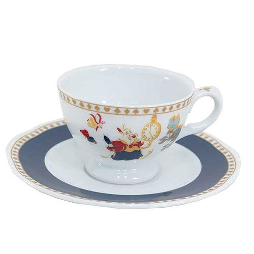 【震撼精品百貨】Disney Alice in Wonderland_夢遊仙境《三郷陶器》下午茶杯盤組(手繪童話)