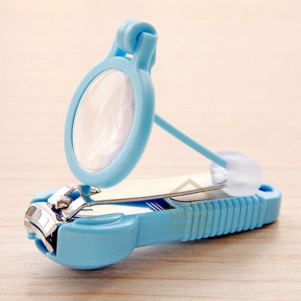 約翰家庭百貨》【WA100】放大鏡指甲剪 指甲刀 2倍放大 適合寶寶老年人